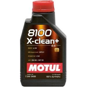 MOTUL 8100 X-CLEAN+ 5W-30 1L