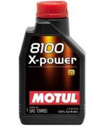 Моторно масло MOTUL 8100 X-POWER 10W-60 един литър