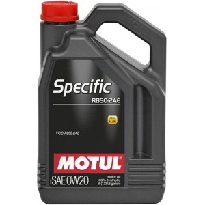 Моторно масло MOTUL SPECIFIC RBS0-2AE 0W-20 пет литра