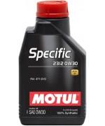 Моторно масло MOTUL SPECIFIC 2312 0W-30 един литър