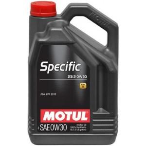 Моторно масло MOTUL SPECIFIC 2312 0W-30 пет литра