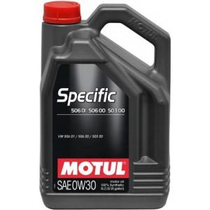 Моторно масло MOTUL SPECIFIC 506 01 / 506 00 / 503 00 0W-30 5L