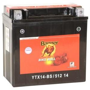 Акумулатор BANNER BIKE BULL AGM YTX14-BS 12AH 180A