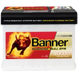 Акумулатори BANNER RUNNING BULL EFB 60AH 560A R+