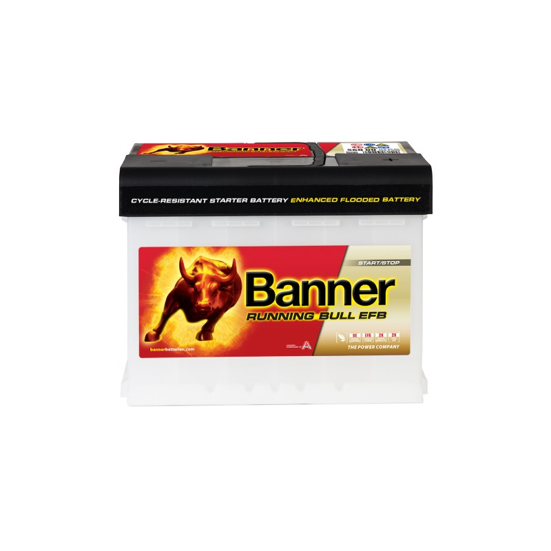 BANNER RUNNING BULL EFB 60AH 560A R+