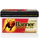 BANNER RUNNING BULL EFB 70AH 660A R+ 1
