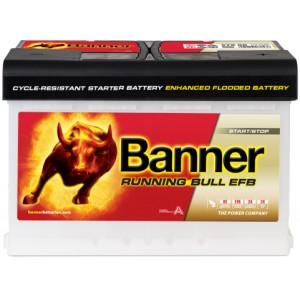 Акумулатор BANNER RUNNING BULL EFB 70AH 660A R+