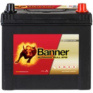 Акумулатор BANNER RUNNING BULL EFB 65AH 550A R+