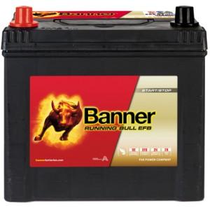 Акумулатор BANNER RUNNING BULL EFB 65AH 550A L+
