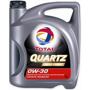 Моторно масло TOTAL QUARTZ INEO FIRST 0W-30 пет литра