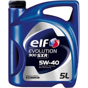 Моторно масло ELF EVOLUTION 900 SXR 5W-40 туба от пет литра