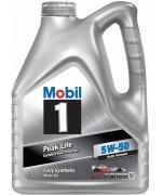 Моторно масло MOBIL 1 PEAK LIFE 5W50 туба от 4 литра