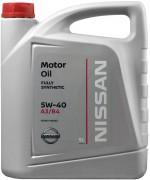 Моторно масло NISSAN 5W-40 5L KE900-90042