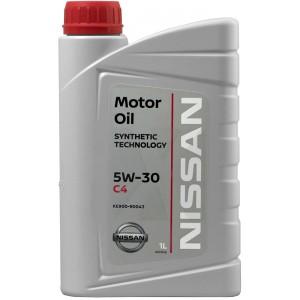 Моторно масло NISSAN 5W30 KE900-90043 един литър