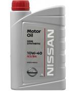 Моторни масла NISSAN 10W40 KE900-99932 един литър