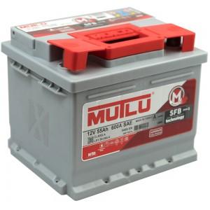 Акумулатор MUTLU SILVER SFB 55AH 540A R+